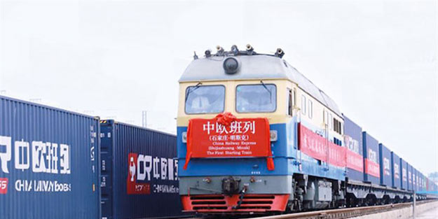 Çin'den geliyor Avrupa'ya gidiyor… O tren Türkiye'de