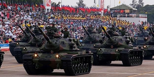 Çin'e böyle meydan okudular: Sizden korkmuyoruz