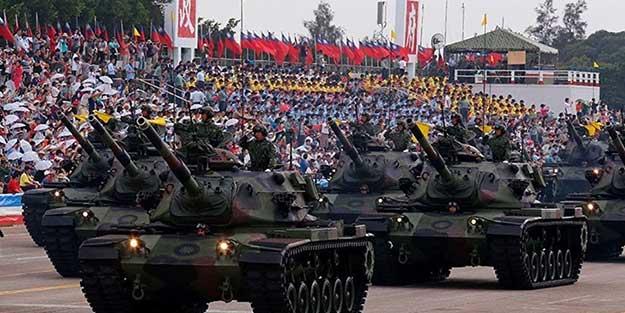 Çinli General: Tayvan'a saldırırız