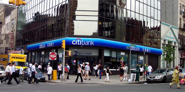 Citibank'a 425 milyon dolar ceza