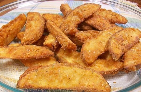 Çıtır patates kızartması nasıl yapılır? Mısır unlu patates tarifi