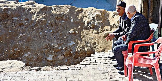 Cizre'de halkın hendek isyanı