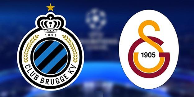 Club Brugge Galatasaray maçı ne zaman saat kaçta? Galatasaray Club Brugge maçı kadrosu