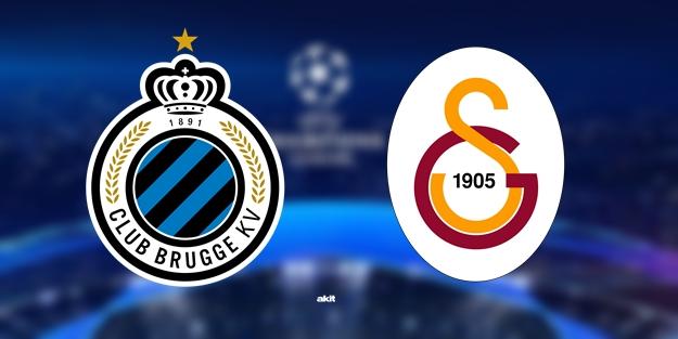 Club Brugge Galatasaray Şampiyonlar Ligi maçı ne zaman saat kaçta hangi kanalda?