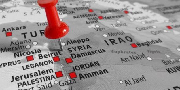 CNN işgalci İsrail'i haritadan sildi, terör devleti kudurdu