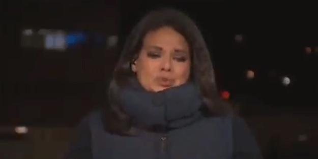 CNN muhabiri canlı yayında gözyaşlarına boğuldu