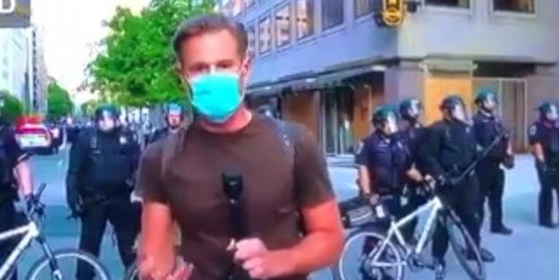 CNN muhabirinden alçaklık! Türkiye'ye benzetti