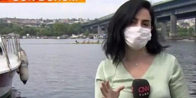 CNN Türk Haliç'e daldı