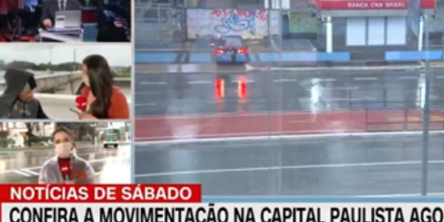 CNN'in Brezilyalı muhabirine canlı yayında gasp