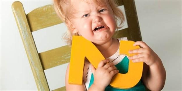 Çocuğunuz 2 yaş sendromu geçiriyor olabilir