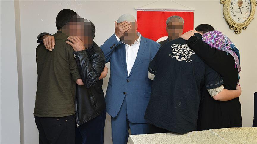 Çocuk yaşta YPG/PKK'ya katılan iki terörist ikna sonucu teslim oldu