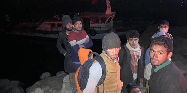 Çok sayıda kaçak göçmen yakalandı