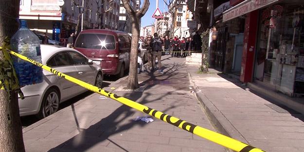 Çok sayıda polis sevk edildi! İstanbul'da sokak ortasında birbirlerini vurdular