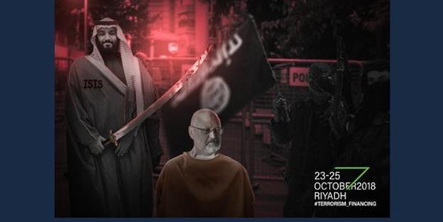 'Çöl Davosu'nu bu kez hackerlar vurdu! Prens Selman'a 'DAEŞ' göndermesi!