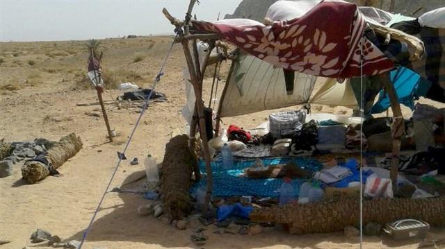 Çölde mahsur kalan mülteciler için komite kuruldu