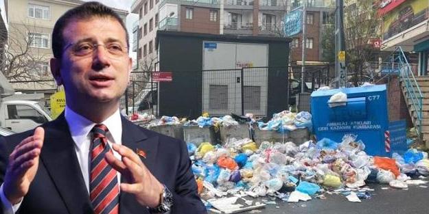 Çöp dağlarının oluştuğu Maltepe'deki vatandaşlara İBB şoku!