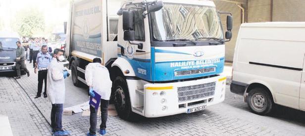 Çöp kamyonun ezdiği çocuk öldü