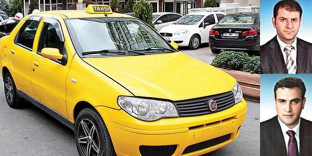 Çorlu'da taksi plakası skandalı!
