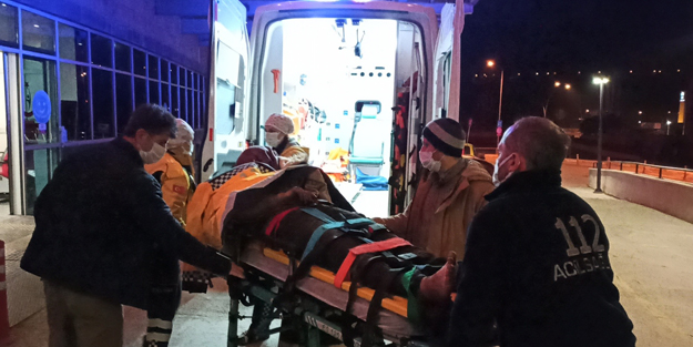 Çorum'da maden ocağında patlama: 1'i ağır 2 yaralı