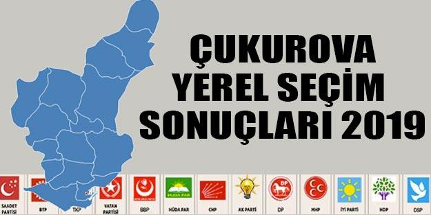Çukurova yerel seçim sonuçları 2019 | Yerel seçim Çukurova Cumhur ittifakı Millet ittifakı oy oranları