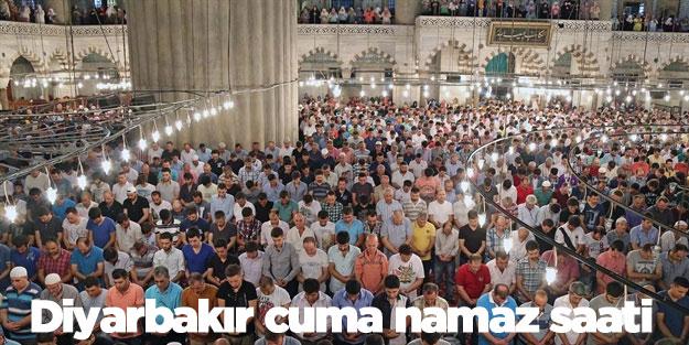Cuma namazı kaçta Diyarbakır (19 Ekim)