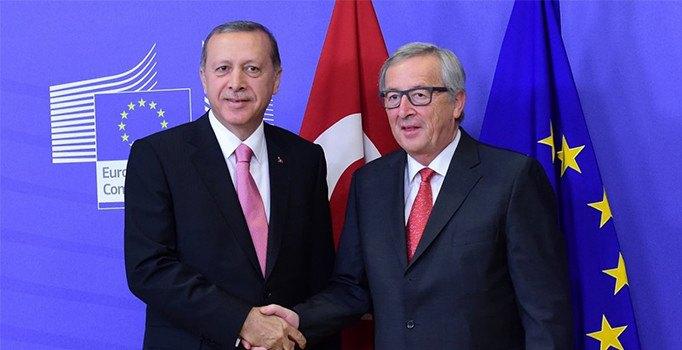 Cumhurbaşkanı Erdoğan, Donald Tusk ve Jean-Claude Juncker görüşmesinde 3 konu ele alınacak