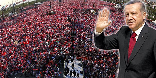 Cumhurbaşkanı adayı Erdoğan İstanbul'da milyonlara seslendi