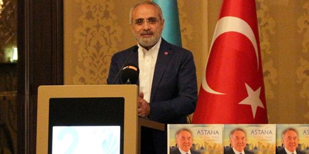Cumhurbaşkanı Başdanışmanı Topçu'dan Nazarbayev'in projesine destek