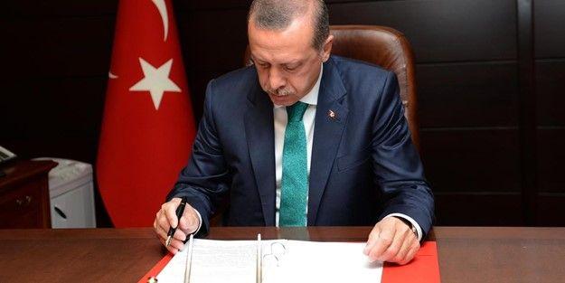Erdoğan, 12 üniversiteye rektör atadı!