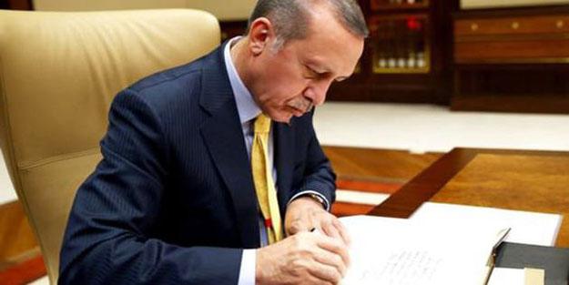 Cumhurbaşkanı Erdoğan onay verdi
