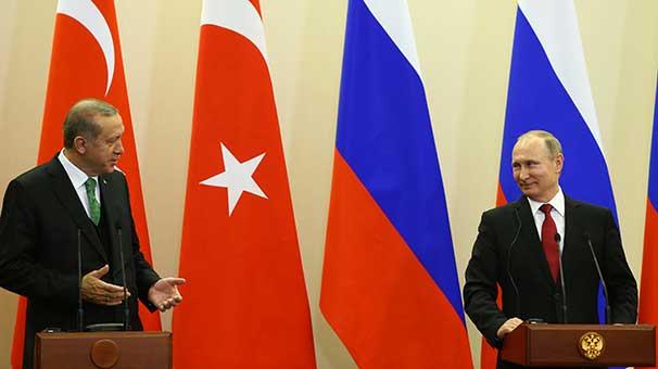 Cumhurbaşkanı Erdoğan: ABD ve Rus askerlerinin YPG ile fotoğraflarını Putin'e verdim