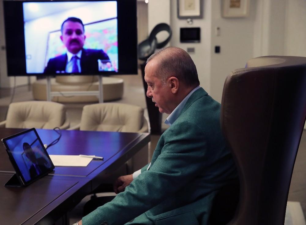"""Cumhurbaşkanı Erdoğan: """"Adımlarımızı eş güdüm içerisinde atmayı sürdürüyoruz"""""""