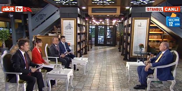 Reis-i Cumhur Erdoğan Akit TV'de soruları cevapladı