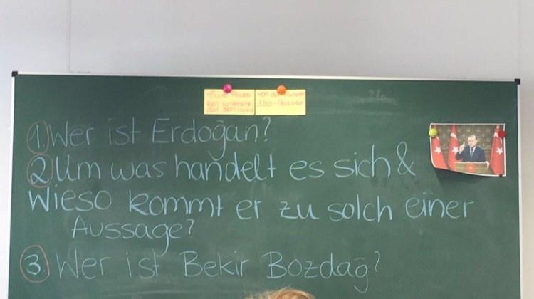 Cumhurbaşkanı Erdoğan Almanya'da ders konusu yapıldı