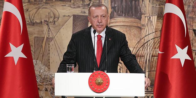 Cumhurbaşkanı Erdoğan: Biz kısa sürede ilerleyince birilerinin tavrı değişti!