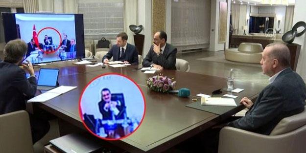 Cumhurbaşkanı Erdoğan bordan üretilen el dezenfektanının reklamı için talimat verdi