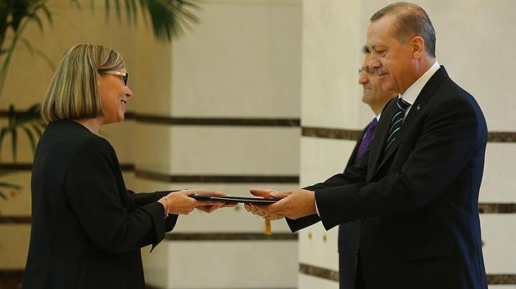 Cumhurbaşkanı Erdoğan Finlandiya Büyükelçisi'ni kabul etti