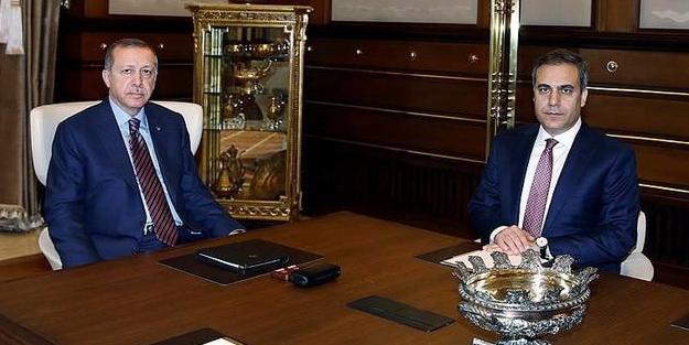 Erdoğan'dan Hakan Fidan hamlesi