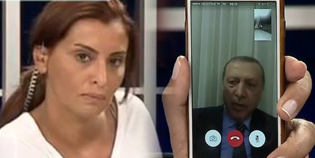 Cumhurbaşkanı Erdoğan Hande Fırat'ı istemedi