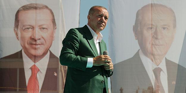 Cumhurbaşkanı Erdoğan: Hanımefendiyle yargıda hesaplaşacağız
