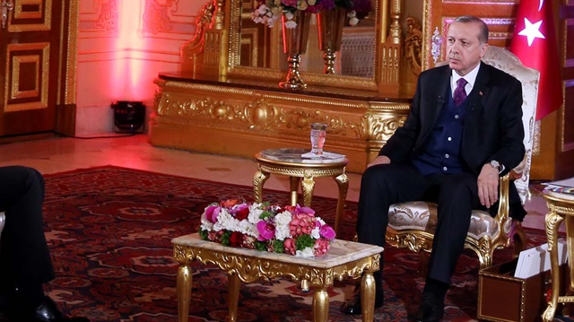 Cumhurbaşkanı Erdoğan: Herkes Suriye'yi bölmenin derdinde