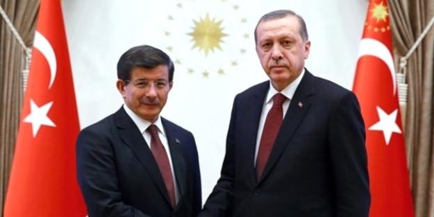 Cumhurbaşkanı Erdoğan ile Davutoğlu 3 saat görüştü