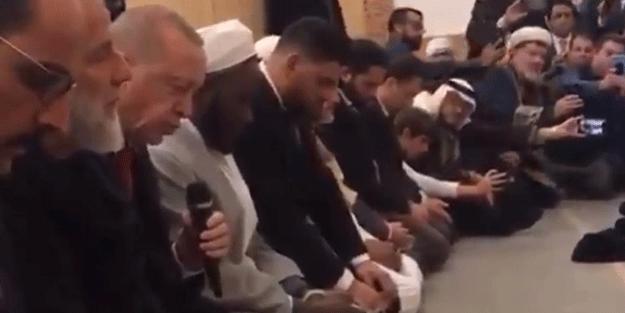 Cumhurbaşkanı Erdoğan İngiltere'nin kalbinde Kur'an-ı Kerim okudu