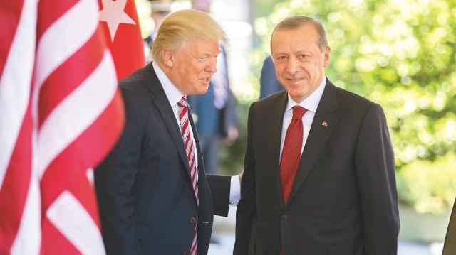 Cumhurbaşkanı Erdoğan kararlı Trump mahcup