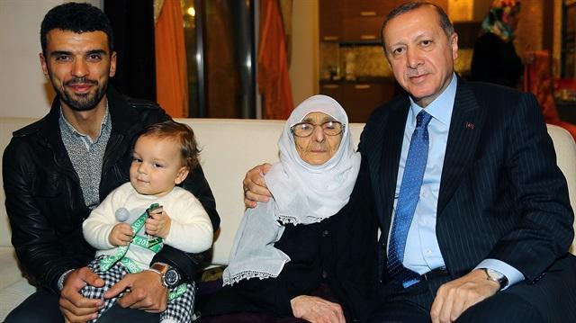 Cumhurbaşkanı Erdoğan, Kenan Sofuoğlu'nu ziyaret etti