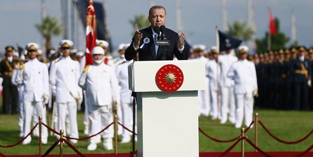 Cumhurbaşkanı Erdoğan: Kendi planımızı uygularız