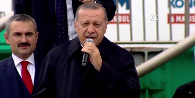 Cumhurbaşkanı Erdoğan: Bunun adı Osmanlı tokadı