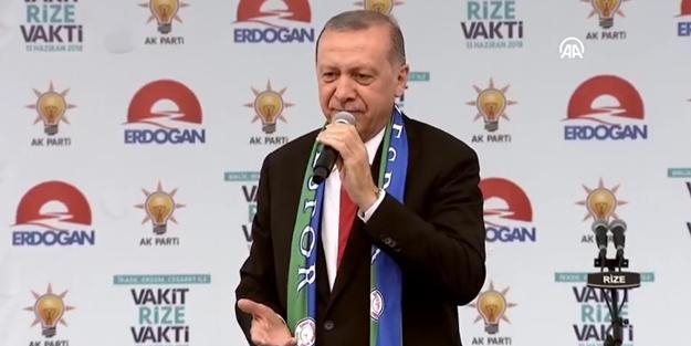 Erdoğan'dan 'Hacı' Muharrem'e sert tepki: Bunun adı siyaset değil omurgasızlıktır