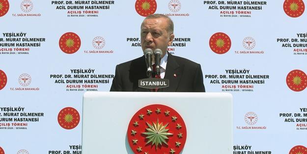 Cumhurbaşkanı Erdoğan: Türkiye'nin yüz akı olacak