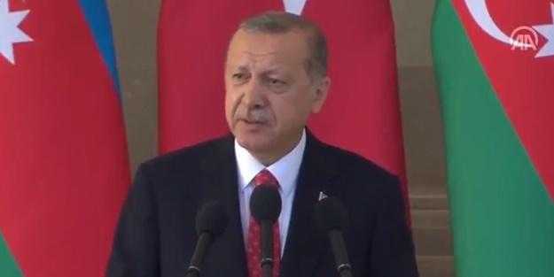 Cumhurbaşkanı Erdoğan: Sınırlarımızı açmamızı beklemeleri boşadır